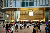 istock Apple Store in China 458610715