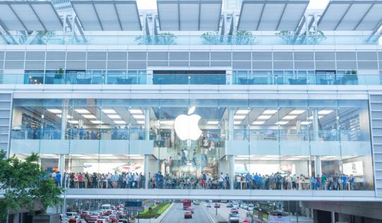 Apple Store in HongKong, China