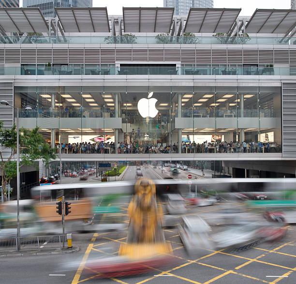 Apple Store in Hongkong International Finance Centre – Foto