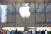 istock Apple Store in Shanghai 458550481