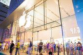 istock Apple Store on Nanjing Road 458340899