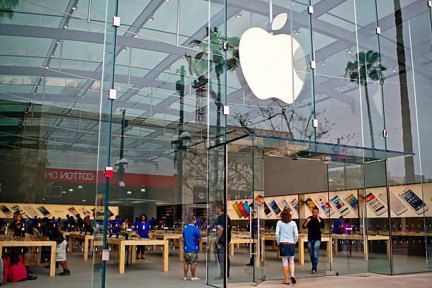 Apple Store auf der Third Street Promenade, Santa Monica, USA – Foto