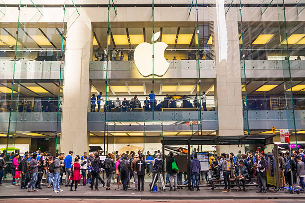 Apple Store Sydney stock photo