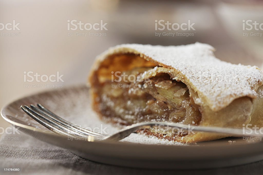 Apfelstrudel stock photo