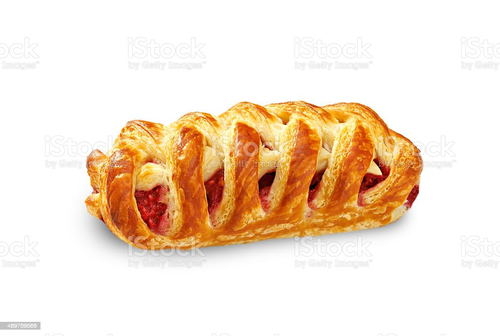 apple strudel stock photo