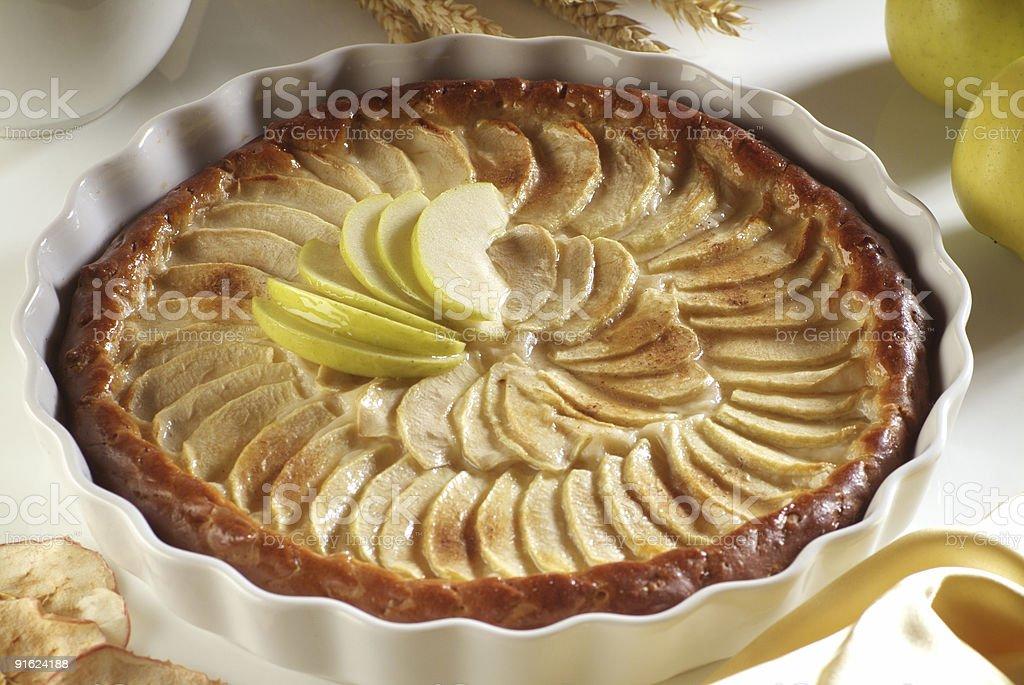 Яблочный тарт Стоковые фото Стоковая фотография