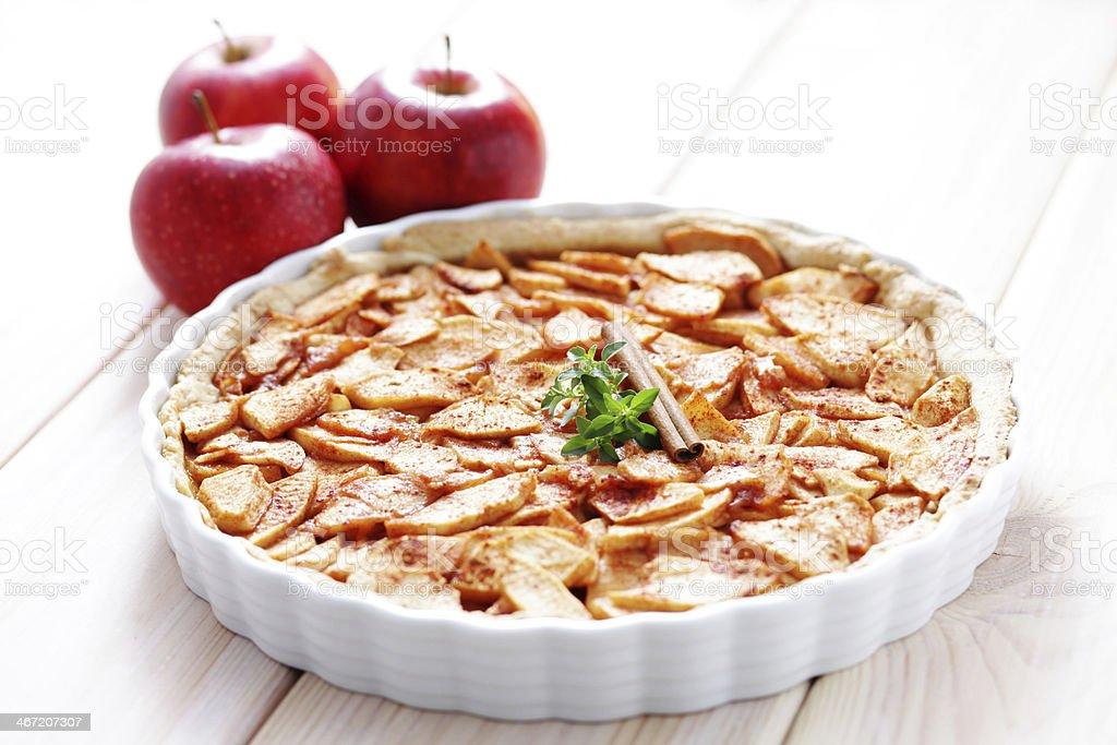 apple tart royalty-free stock photo