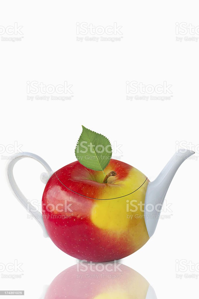 Apple tea royalty-free stock photo