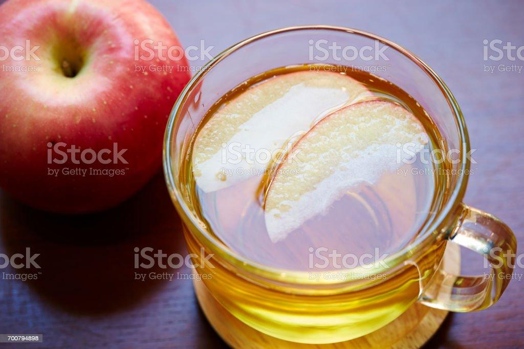 Apple tea stock photo