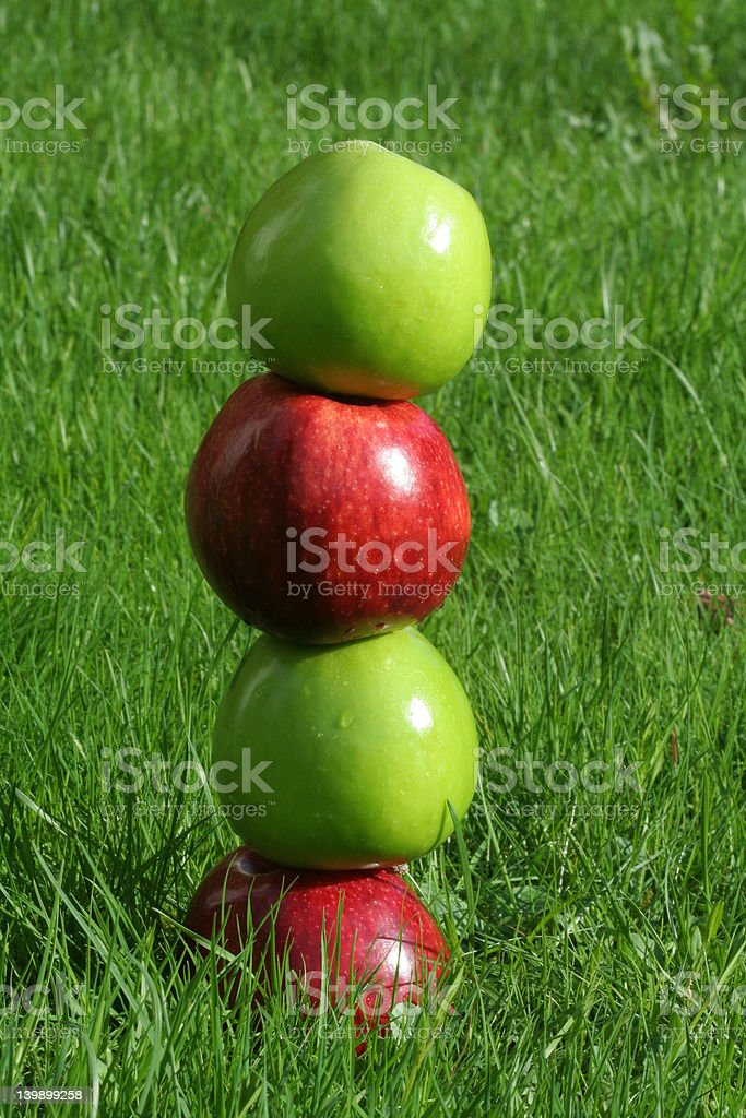 apple tower royalty-free stock photo