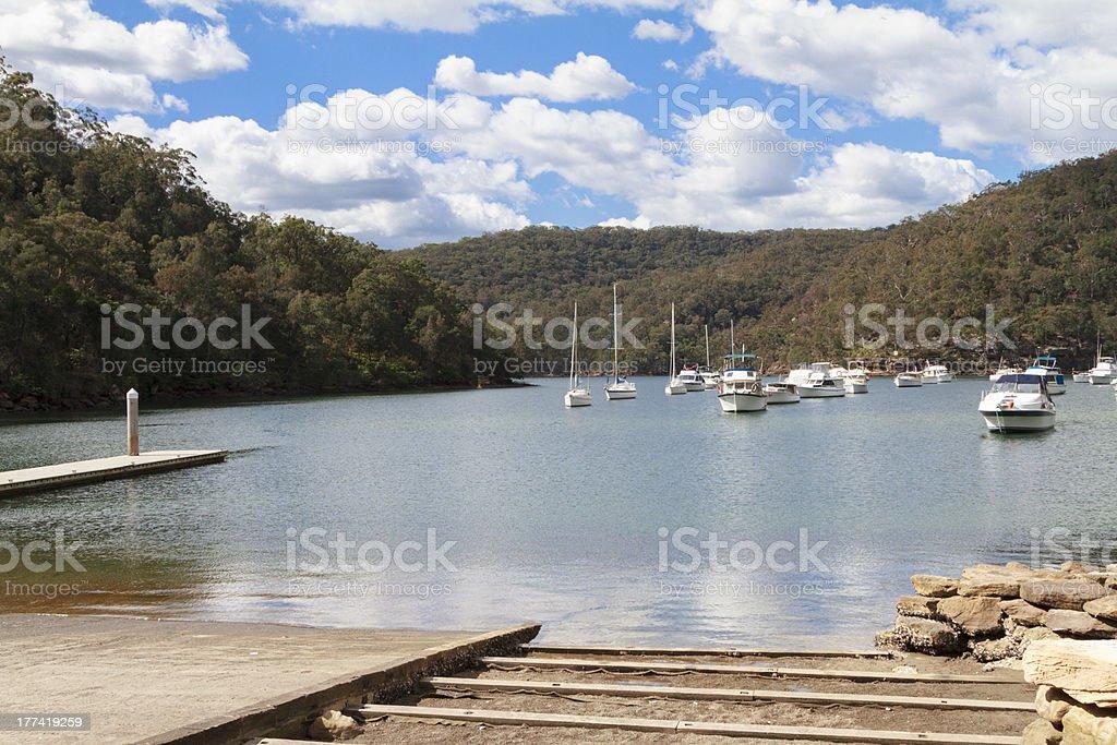 Apple Tree Bay stock photo