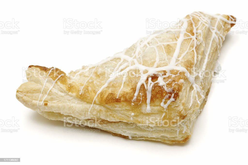 apple turnover stock photo