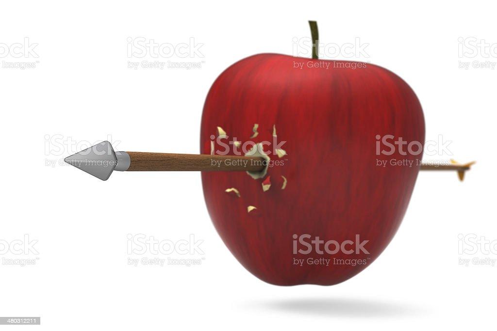 Apple wurde von Pfeil klicken – Foto