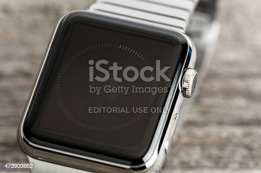 istock Apple Watch 42mm Stainless Steel with Link Bracelet 473903652