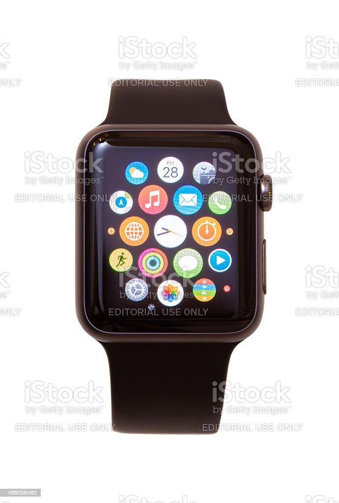 Apple Watch stock photo