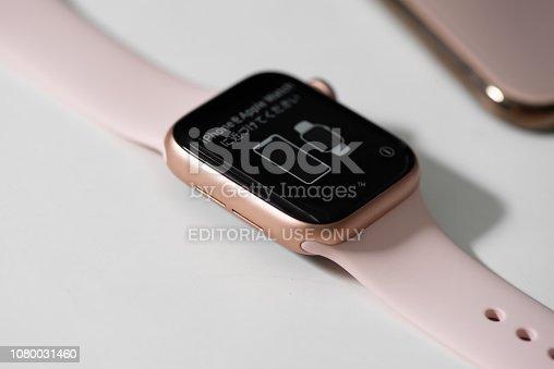 istock Apple Watch Series 4 1080031460