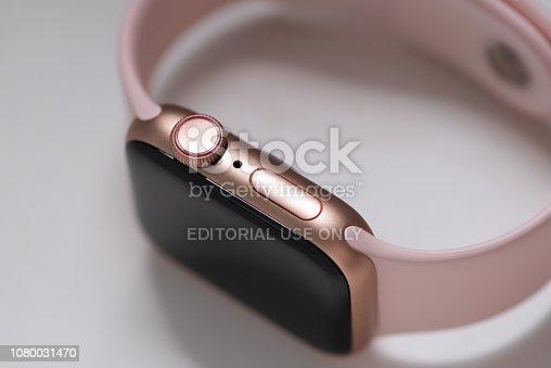 istock Apple Watch Series 4 1080031470