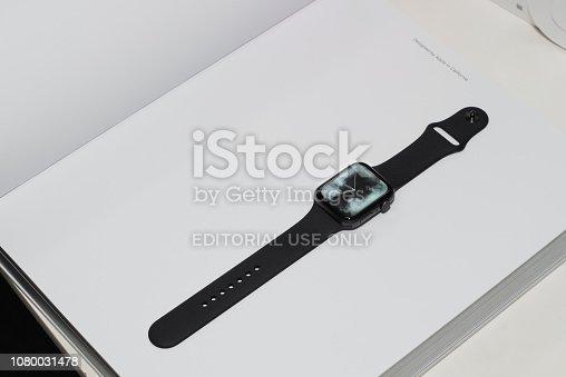 istock Apple Watch Series 4 1080031478