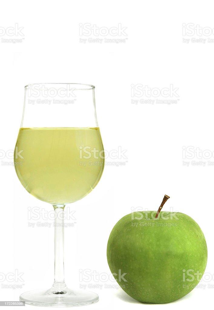 Apple Wine royalty-free stock photo