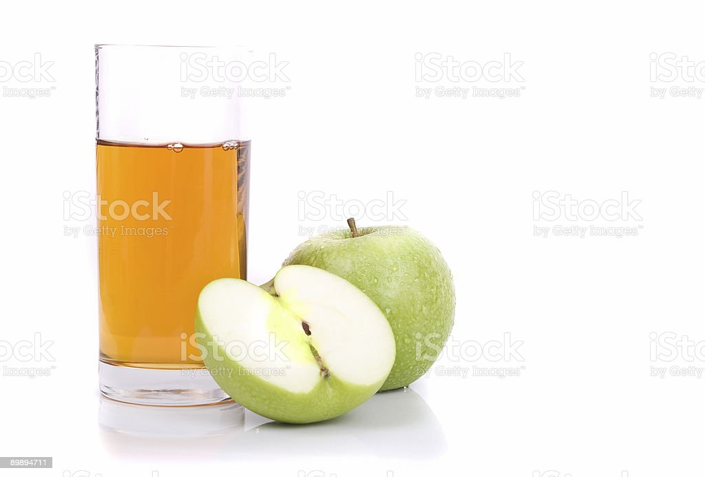 Applejuice foto de stock libre de derechos
