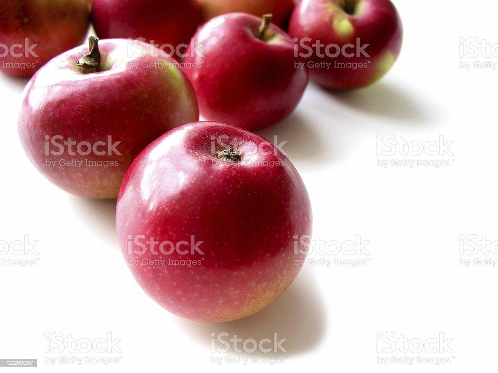 Apples 3 stock photo