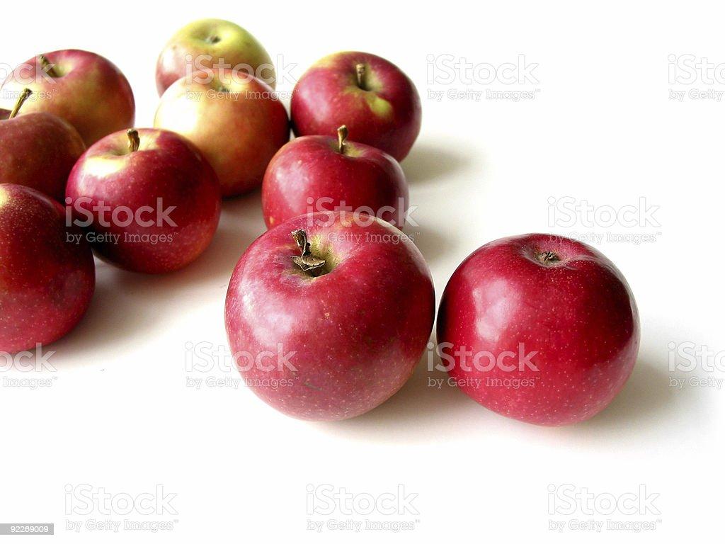 Apples 5 stock photo