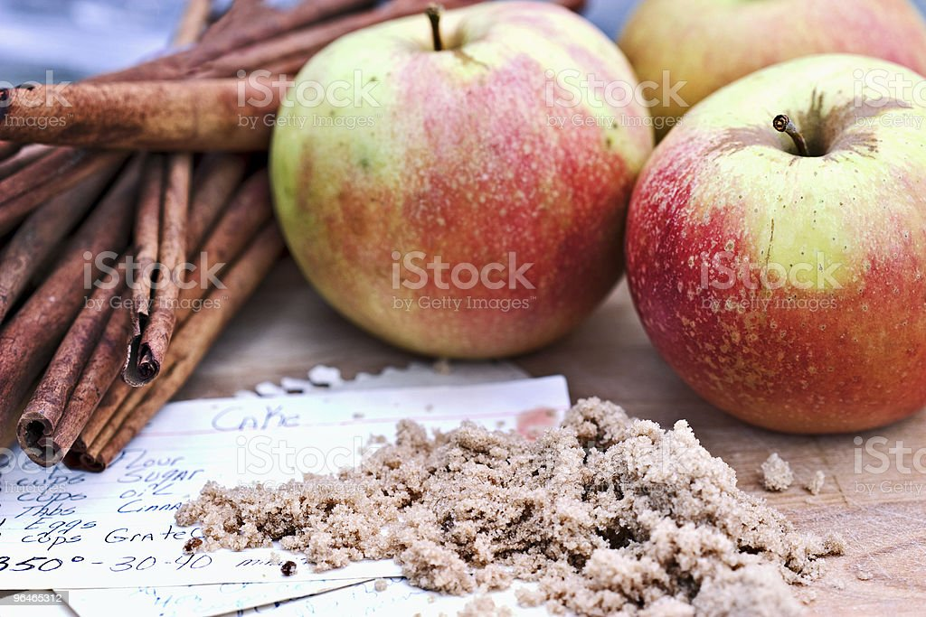 Apples and Spice royalty-free stock photo