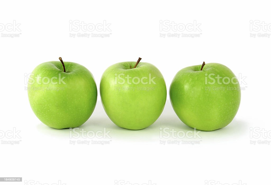 Apples for breakfast royalty-free stock photo