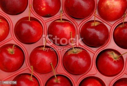 istock Apples in Plastic Box 140012756