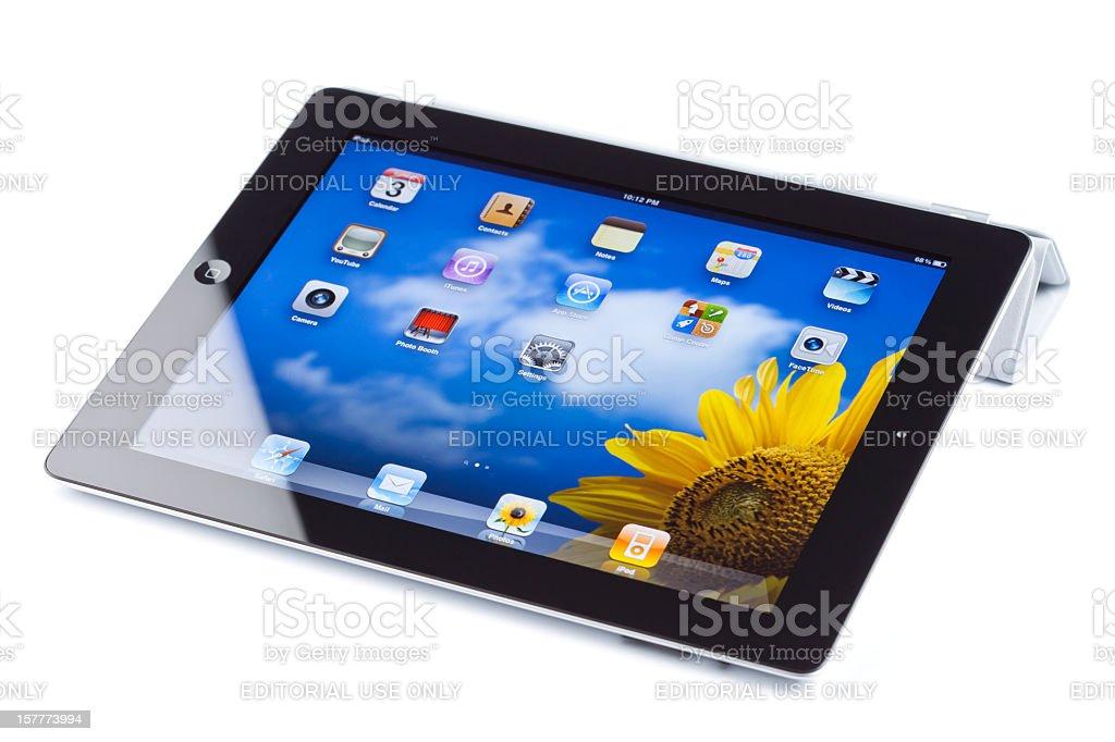 Apple's iPad2 isolated royalty-free stock photo