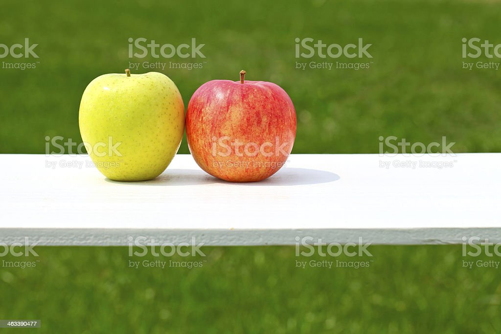 Apples, pairs, stock photo