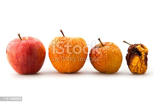 Evolution of apple decay