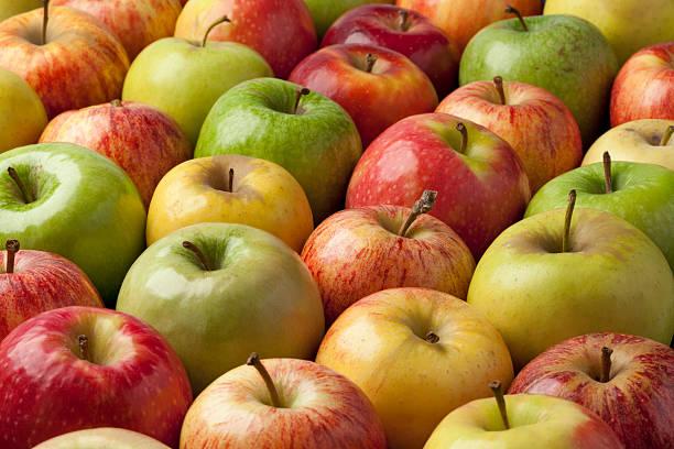 apples - appel stockfoto's en -beelden