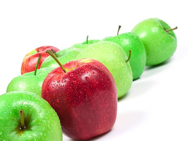 apples - xxmmxx stock photos and pictures