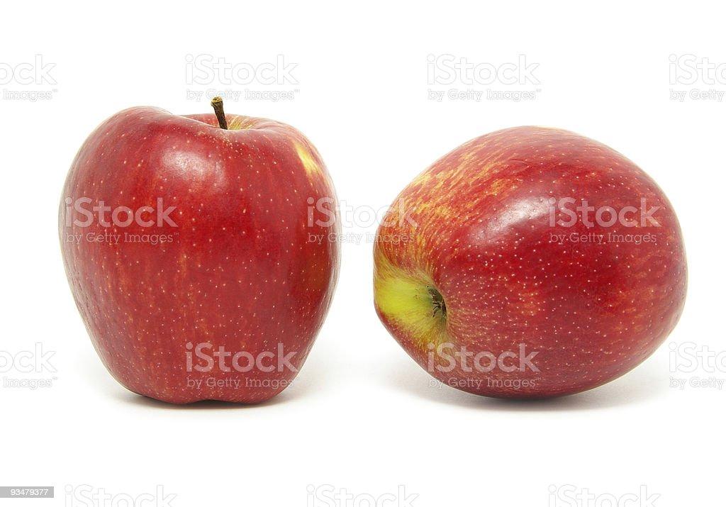 사과들 - 로열티 프리 0명 스톡 사진