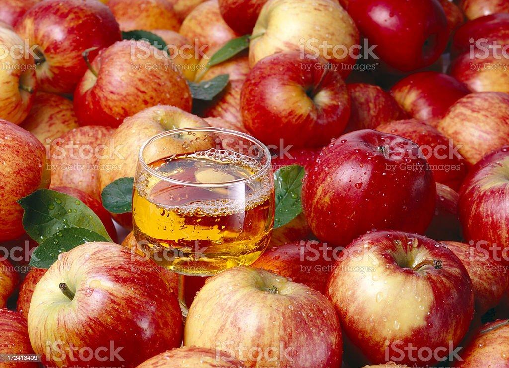 Apples wallpaper (6) royalty-free stock photo