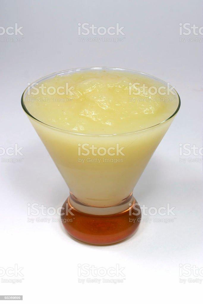 Applesauce serving royalty-free stock photo