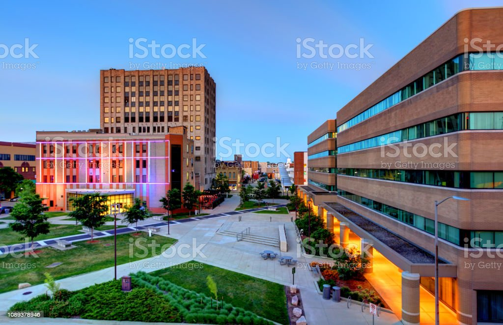 Appleton, Wisconsin stock photo
