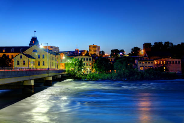 Appleton, Wisconsin Appleton is a city in Outagamie, Calumet, and Winnebago counties in the U.S. state of Wisconsin wisconsin stock pictures, royalty-free photos & images