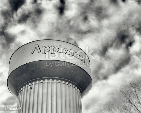 water tower in northern Wisconsin