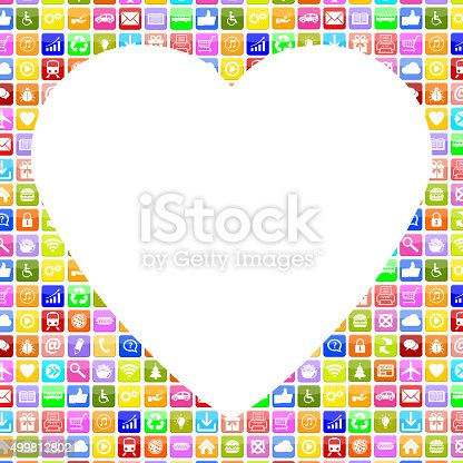 istock Application Apps App searching partner and love online on internet 499812802