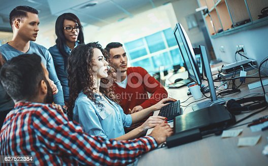 istock Application developers at work. 627522384