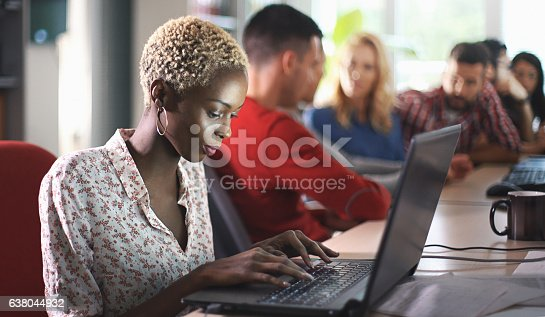 636609180 istock photo Application developers at work. 638044932