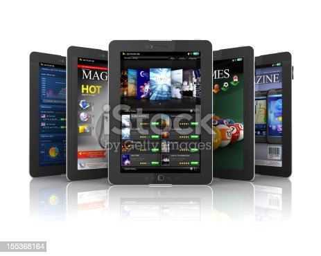 istock applications on Tablet PC 155368164