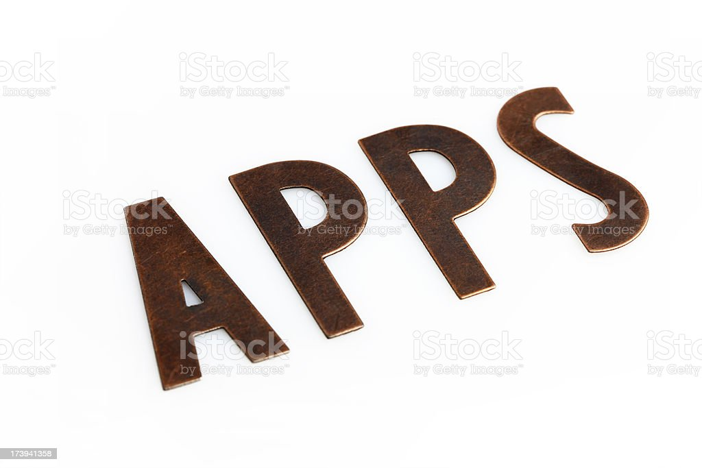 Applications royalty-free stock photo