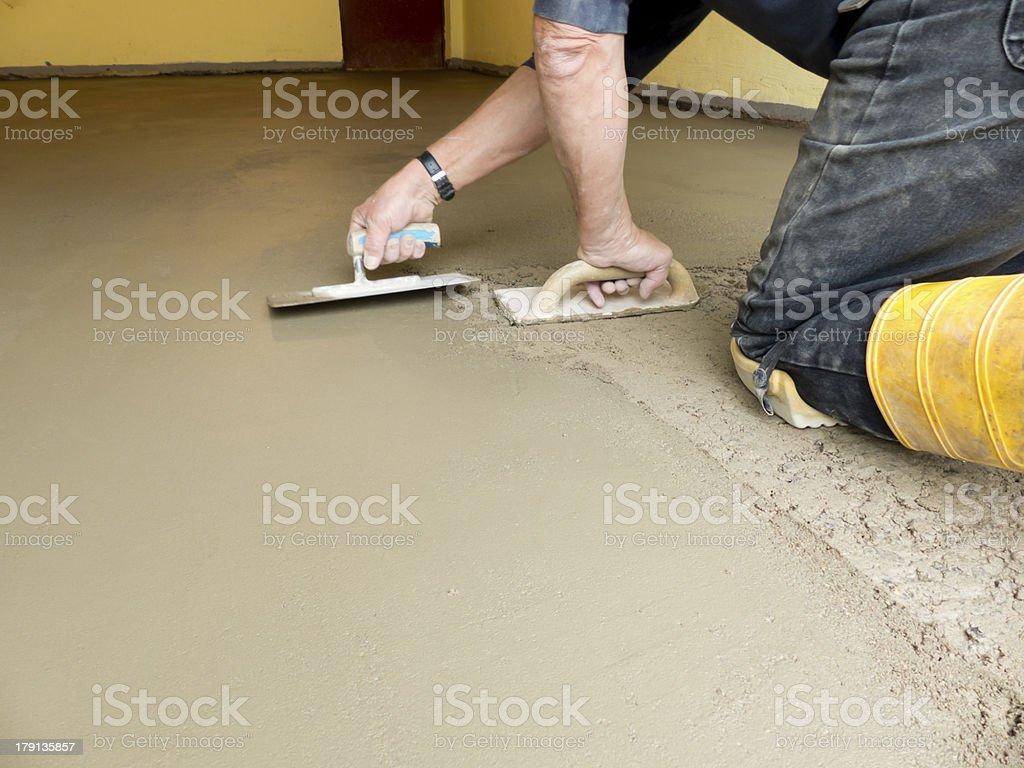 Gelten Zement-Konstruktion – Foto