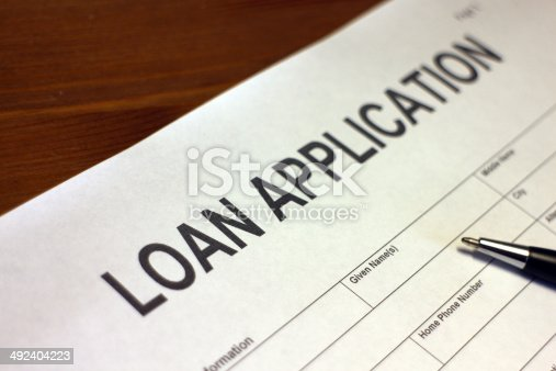 istock Apply for a Loan 492404223