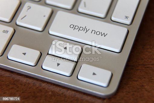 Apply now internet application form submit button