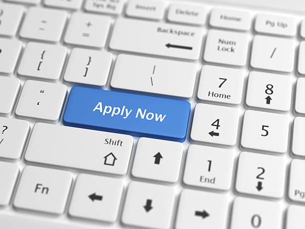apply now - apply online stock photos and pictures
