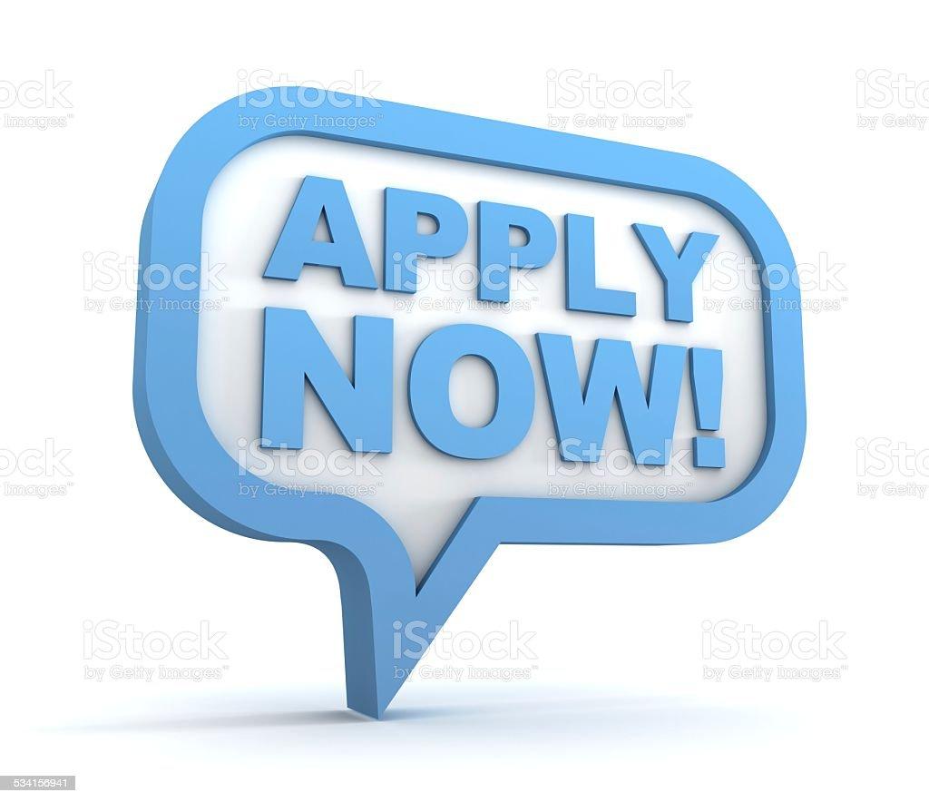 apply now stock photo